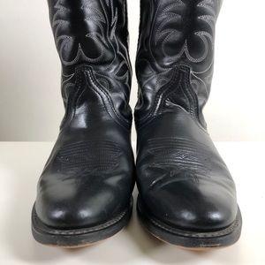 Laredo Women Western Boot Black.  Size 7 Pre-Owned